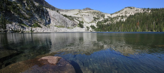 Idaho's Selkirk Crest: Beehive and Harrison Lakes, July 2014