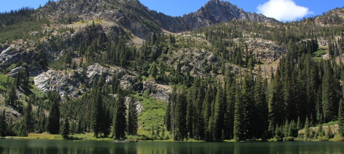 Sawtooth Mountains: Marshall Lake, August 2014