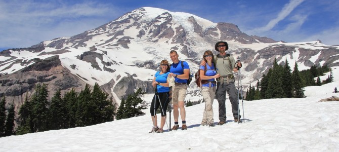 Mt. Rainier Part 2: Skyline Trail at Paradise, July 2014