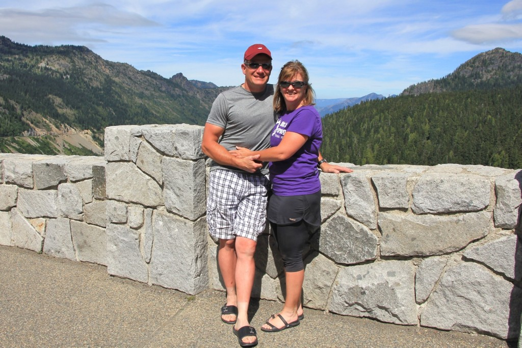 Mick and Suzy at Chinook Pass