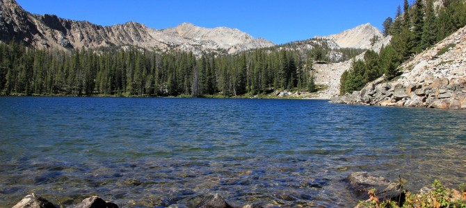 White Cloud Mtns: Boulder Chain Lakes Backpack, September 2014