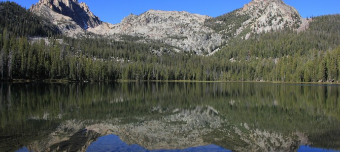 Sawtooth Mountains: Bench Lakes, September 2014