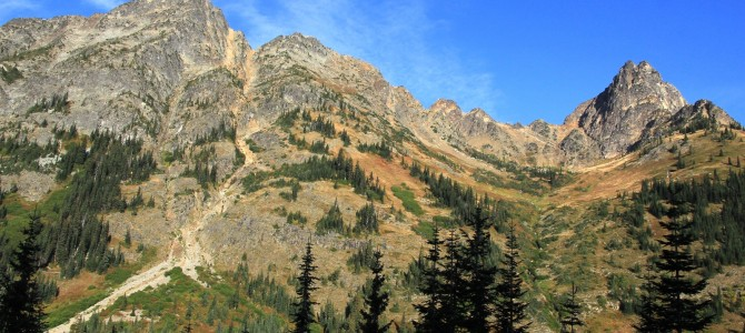 North Cascades: Blue Lake, Sept 2014