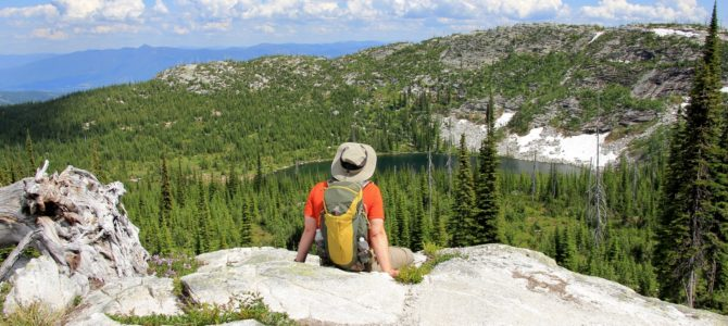Idaho's Selkirk Crest: Roman Nose Lakes, July 2013