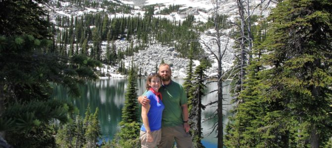 Idaho's Selkirk Crest: Beehive Lake, July 2013