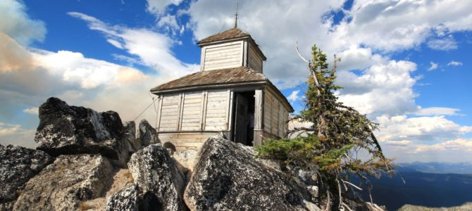 Fire on the Mountain: Idaho's Grave Peak Lookout, Aug 2010