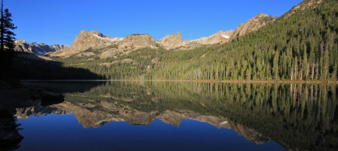 Idaho's Sawtooth Mtns: Hell Roaring and Imogene Lakes Backpack, Sept 2015