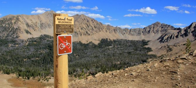 Idaho's White Cloud Wilderness: Sept 2015