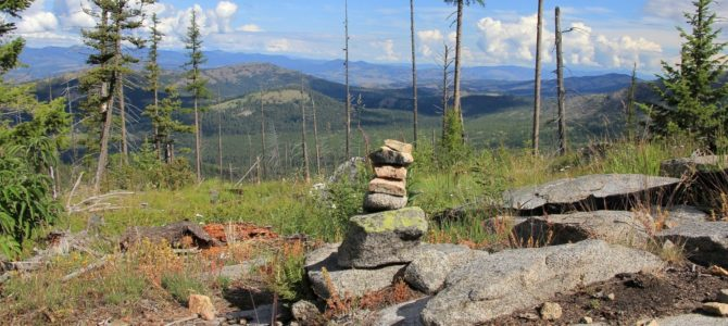 Washington's Kettle Crest: Edds Mountain, July 2016