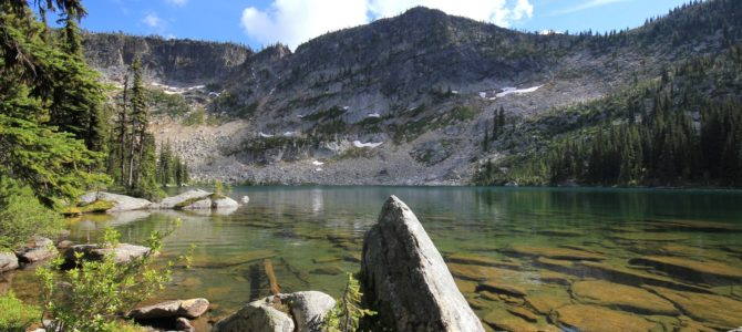 Idaho's Selkirk Crest: Big Fisher Lake Backpack, July 2016