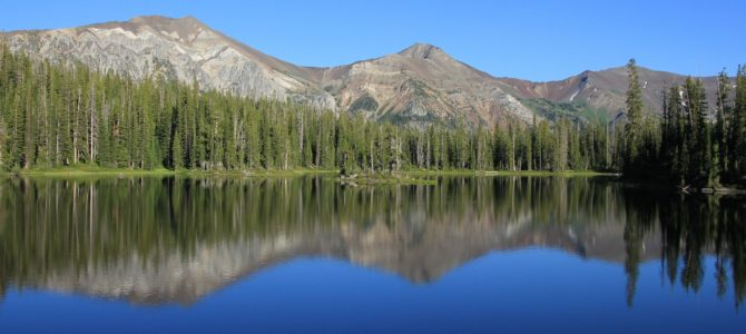 Oregon's Eagle Cap Wilderness:  Lakes Basin Backpack day 1 (Horseshoe Lake), Aug 2016