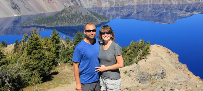 Oregon's Crater Lake: Garfield Peak, Sept 2016