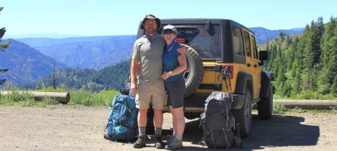 SE Washington's Blue Mountains: Misery Backpack, June 2017