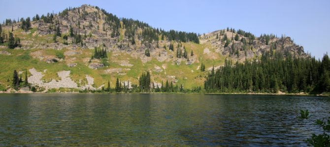 Idaho-Montana Border: Blossom & Pear Lakes, Aug 2017