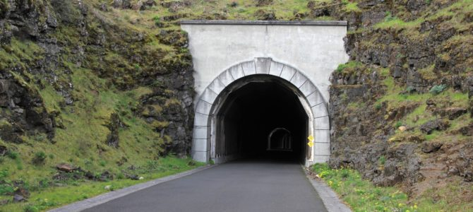 Oregon's Columbia River Gorge: Historic Mosier Twin Tunnels, March 2018