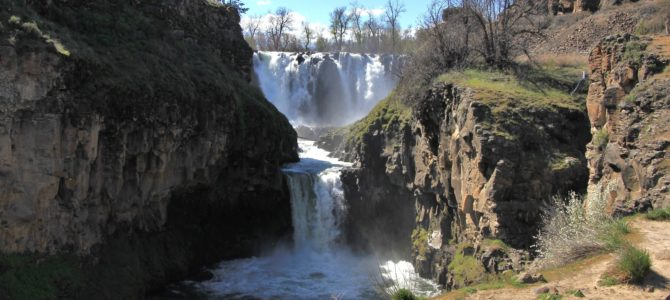 Central Oregon's White River Falls State Park, April 2018