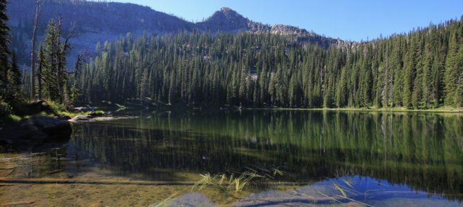 Northern Idaho's Selkirk Crest: Bottleneck Lake, Aug 2017