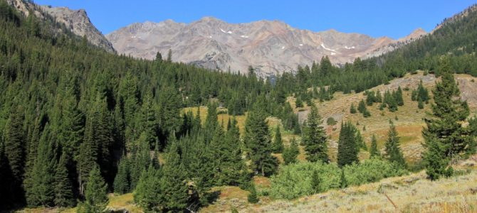 Idaho's Hemingway-Boulders Wilderness: North Fork Big Wood River, Sept 2017