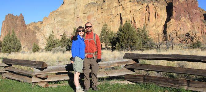 Central Oregon's Smith Rock State Park: Misery Ridge Trail, April 2018