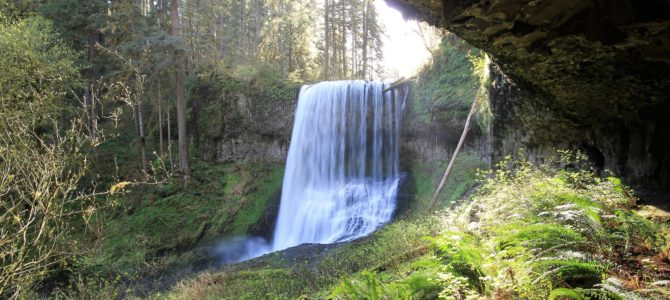 Oregon's Silver Falls State Park: Trail of Ten Falls, April 2018