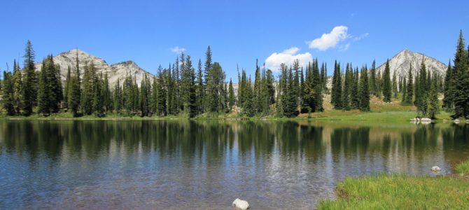 Oregon's Eagle Cap Wilderness: Main Eagle Backpack day 2 (Bear Lake), July 2018