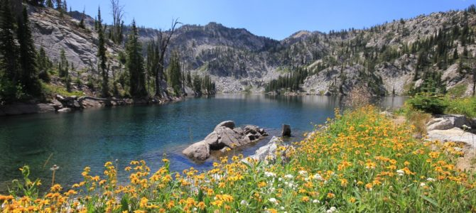 Oregon's Eagle Cap Wilderness: Main Eagle Backpack day 3 (Lookingglass Lake), July 2018
