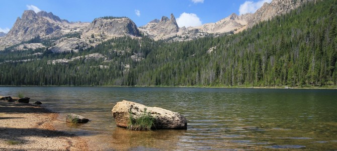 Sawtooth Mountains: Hell Roaring and Alice Lakes, August 2014