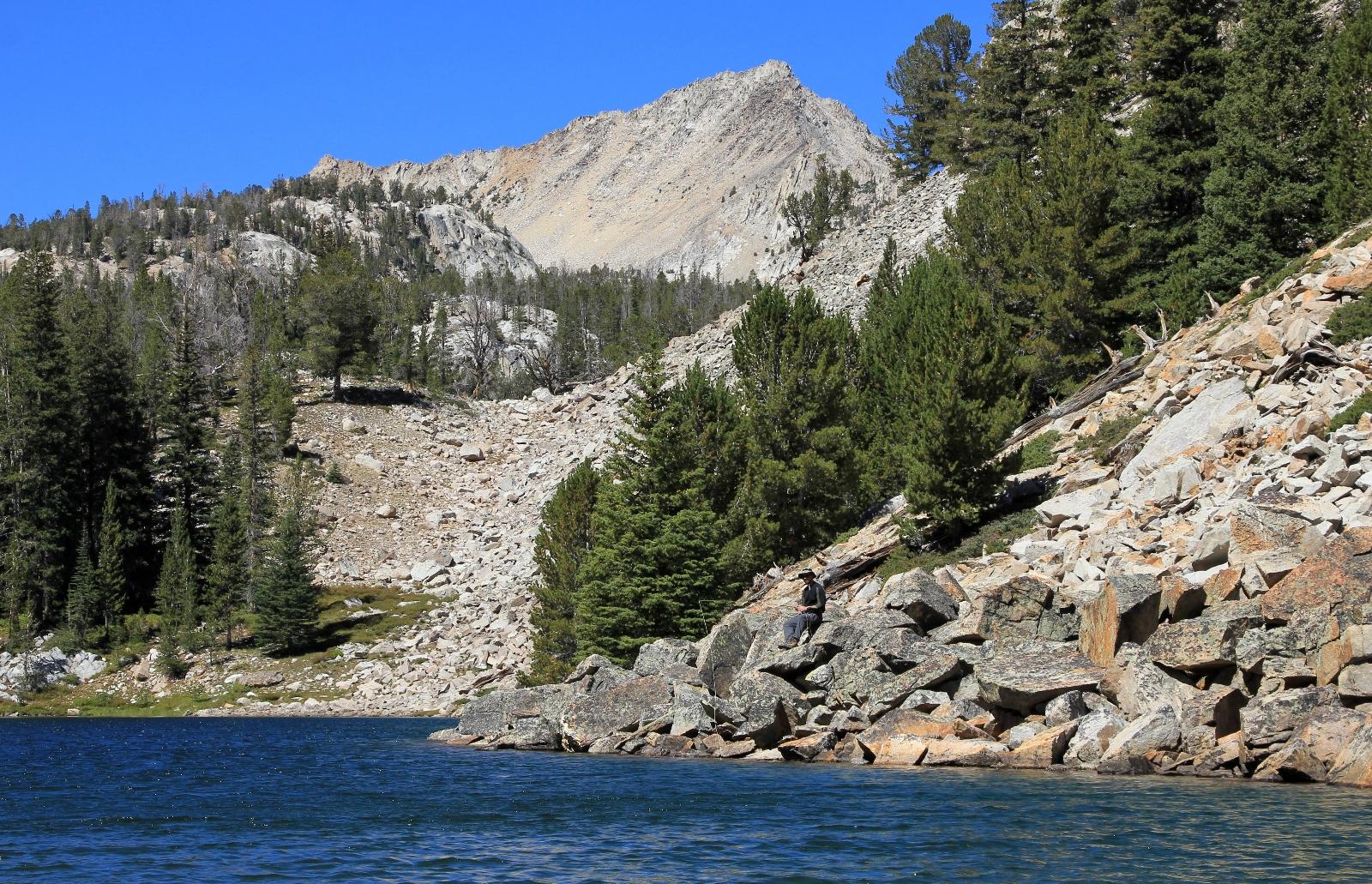 White Cloud Mtns: Boulder Chain Lakes Backpack, September