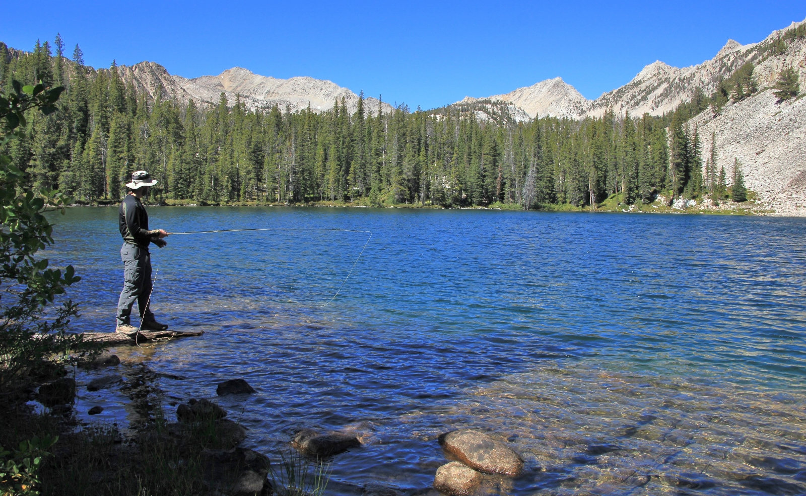 White Cloud Mtns: Boulder Chain Lakes Backpack, September