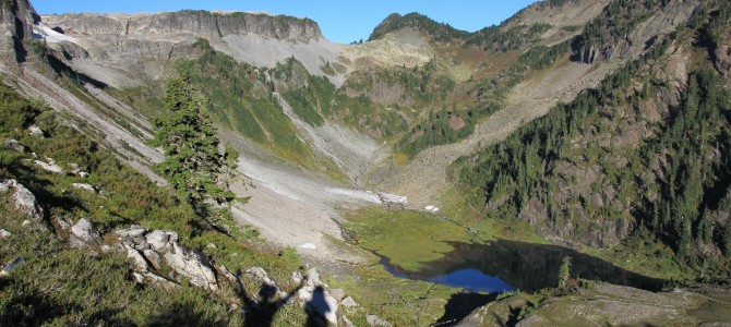 North Cascades: Galena Lakes Loop, Sept 2014