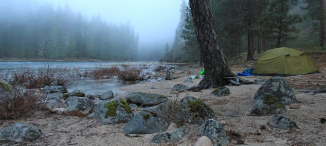 After the Fire: Idaho's Selway River, April 2016