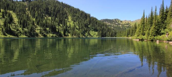 Western Montana: St. Regis Lakes, July 2013
