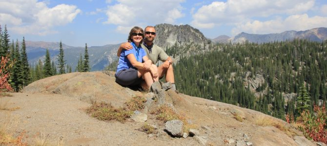 Oregon's Eagle Cap Wilderness: Chimney Lake Backpack, August 2015
