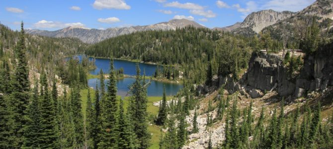 Oregon's Eagle Cap Wilderness:  Minam and Mirror Lakes Backpack, July 2015