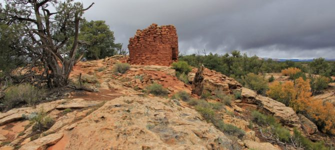 Stormy Day in Utah: Museums, Ruins, and Rock Art, Oct 2013