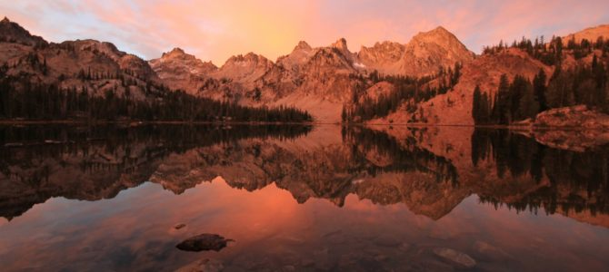 Idaho's Sawtooth Mountains: Alice Lake Loop Backpack, Sept 2015