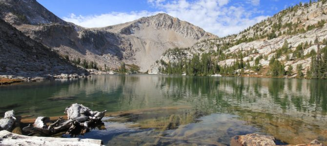 Idaho's White Cloud Wilderness: Island Lake, Sept 2015