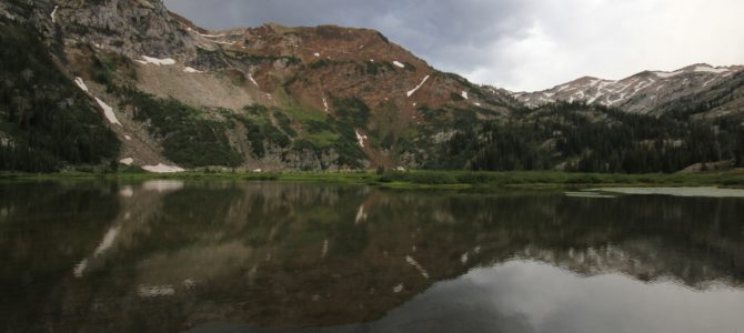 Oregon's Eagle Cap Wilderness: Lakes Basin Backpack day 4 (Frazier Lake to TH), Aug 2016