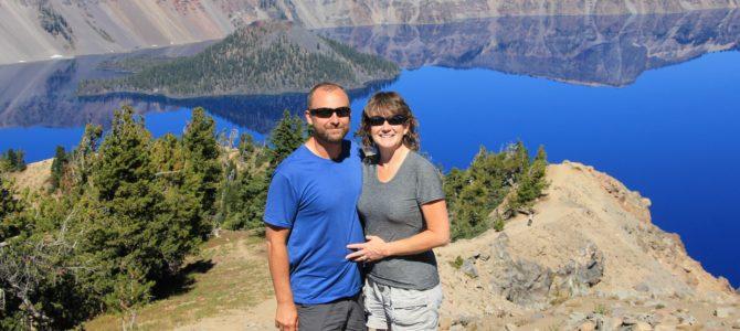 Oregon's Crater Lake: Garfield Peak, Sept 2016