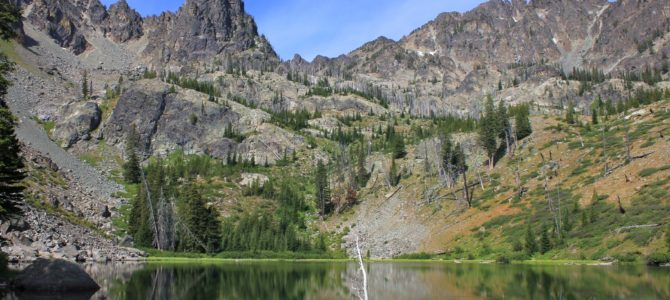 Idaho's Seven Devils: Heaven's Gate & Lower Cannon Lake, Aug 2011