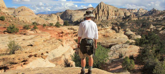 Utah's Capitol Reef National Park: Rim Overlook-Navajo Knobs Trail, Sept 2016