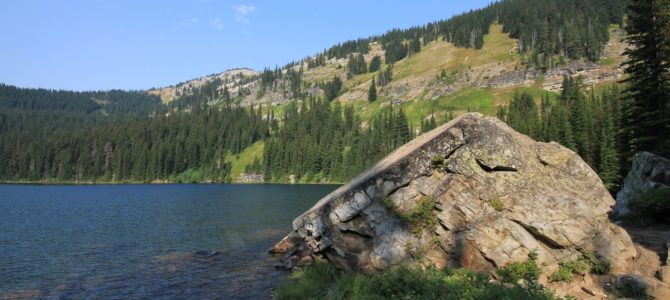 Idaho-Montana Border: Revett Lake, Aug 2017