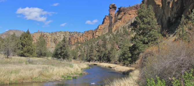 Central Oregon's Smith Rock State Park: Summit Loop, April 2018