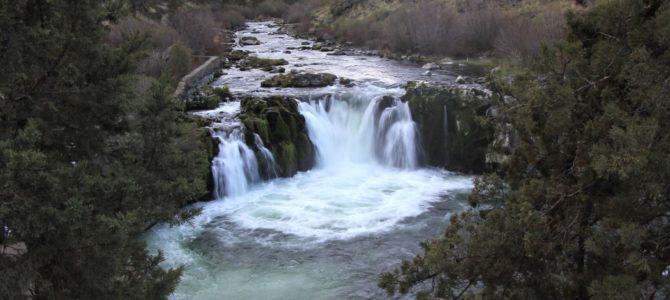 Central Oregon's Steelhead Falls, April 2018