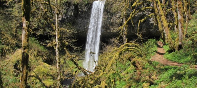 Oregon's Santiam Foothills: Shellburg Falls, April 2018
