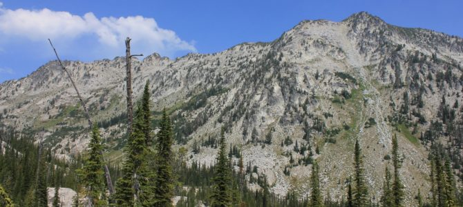 Oregon's Eagle Cap Wilderness: Swamp & Steamboat Lakes Backpack day 1 (Copper Creek Meadows), Aug 2018