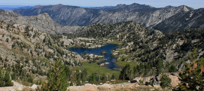 Oregon's Eagle Cap Wilderness: Swamp & Steamboat Lakes Backpack day 2 (Swamp Lake), Aug 2018