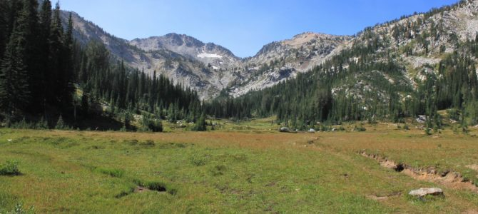 Oregon's Eagle Cap Wilderness: Swamp & Steamboat Lakes Backpack day 4 (return to civilization), Aug 2018