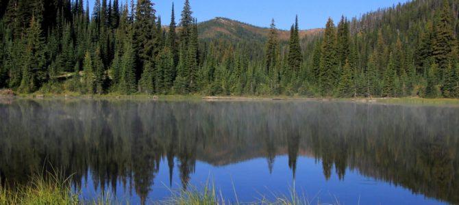 Idaho's Bitterroot Divide: Goose Lake Backpack, Sept 2018
