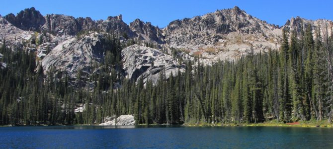 Idaho's Sawtooth Wilderness Backpack Day 1: Redfish Lake to Alpine Lake